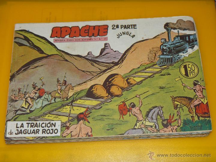 Tebeos: TEBEOS-COMICS GOYO - APACHE - 2ª SERIE - COMPLETA - CLAUDIO TINOCO **BB99 - Foto 75 - 44621721