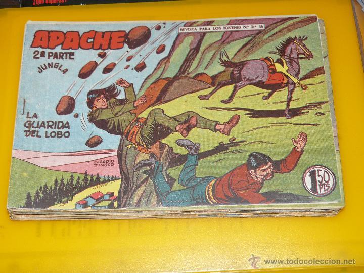 Tebeos: TEBEOS-COMICS GOYO - APACHE - 2ª SERIE - COMPLETA - CLAUDIO TINOCO **BB99 - Foto 79 - 44621721