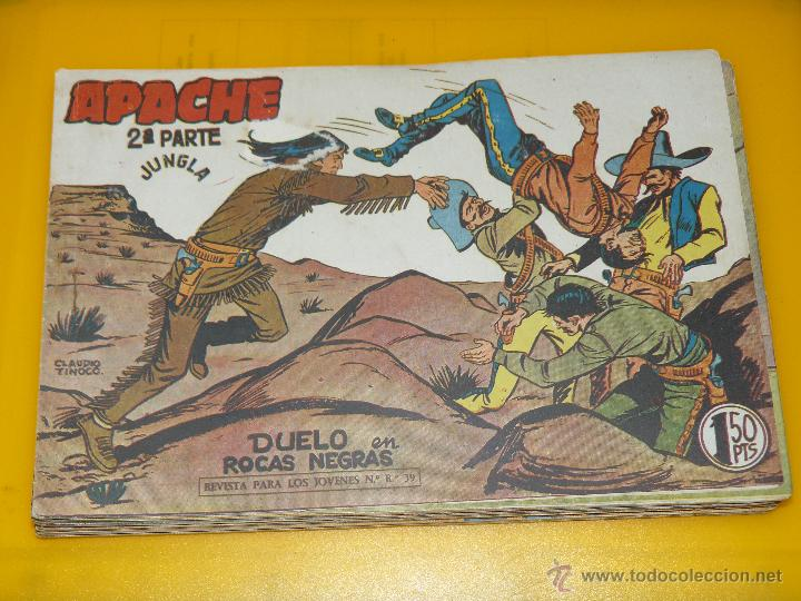 Tebeos: TEBEOS-COMICS GOYO - APACHE - 2ª SERIE - COMPLETA - CLAUDIO TINOCO **BB99 - Foto 80 - 44621721