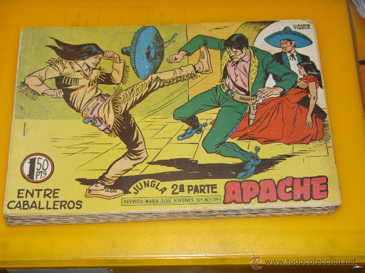 Tebeos: TEBEOS-COMICS GOYO - APACHE - 2ª SERIE - COMPLETA - CLAUDIO TINOCO **BB99 - Foto 81 - 44621721