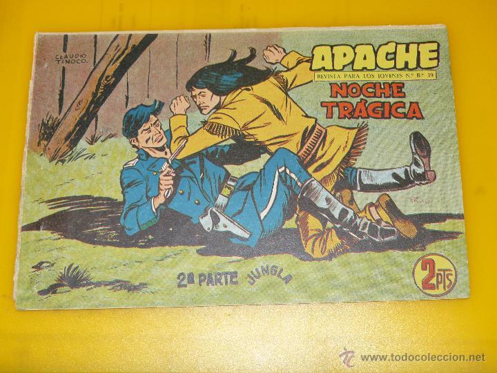Tebeos: TEBEOS-COMICS GOYO - APACHE - 2ª SERIE - COMPLETA - CLAUDIO TINOCO **BB99 - Foto 82 - 44621721
