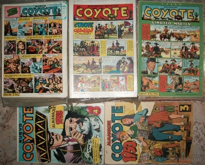 EL COYOTE (CLIPER) (COMPLETA 189 NUMEROS +2 ALMANAQUES FUERA DE LA COLECCION) VER DESCRIPCION (Tebeos y Comics - Tebeos Colecciones y Lotes Avanzados)