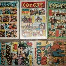 Tebeos: EL COYOTE (CLIPER) (COMPLETA 189 NUMEROS +2 ALMANAQUES FUERA DE LA COLECCION) VER DESCRIPCION. Lote 46220294