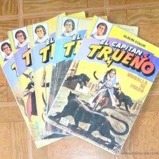 Tebeos: COMIC EL CAPITAN TRUENO. ALBUM COLOR: LOTE DE 5 COMICS - BRUGUERA. Lote 46359310