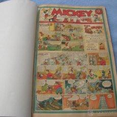 Tebeos: REVISTA MICKEY MOLINO 1936 TOMO 1 A 27 VER FOTOS Y DESCRIPCION. Lote 46368680