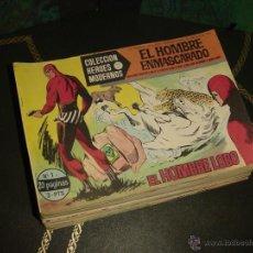 Tebeos: HOMBRE ENMASCARADO SERIE A (DOLAR - 1964). ¡¡ COMPLETA !!. Lote 46393418