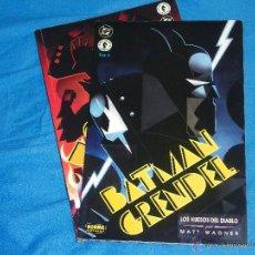 Tebeos: BATMAN GRENDEL - LOS HUESOS DEL DIABLO - NºS 1 Y 2 COMPLETA - ( MATT WAGNER ). Lote 46557858