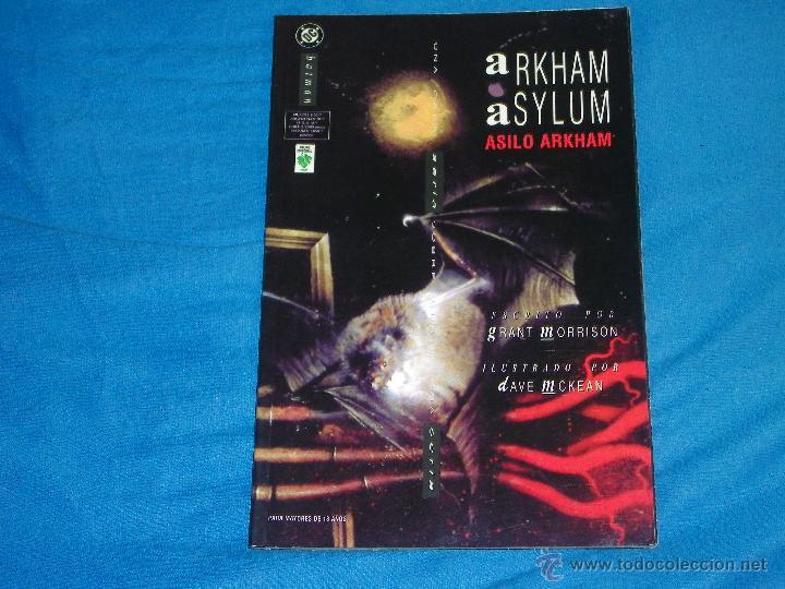BATMAN ARKHAM ASYLUM - TOMO UNICO - ( GRANT MORRISON ) (Tebeos y Comics - Tebeos Pequeños Lotes de Conjunto)