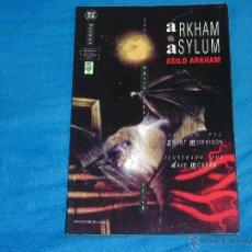 Tebeos: BATMAN ARKHAM ASYLUM - TOMO UNICO - ( GRANT MORRISON ). Lote 46560240