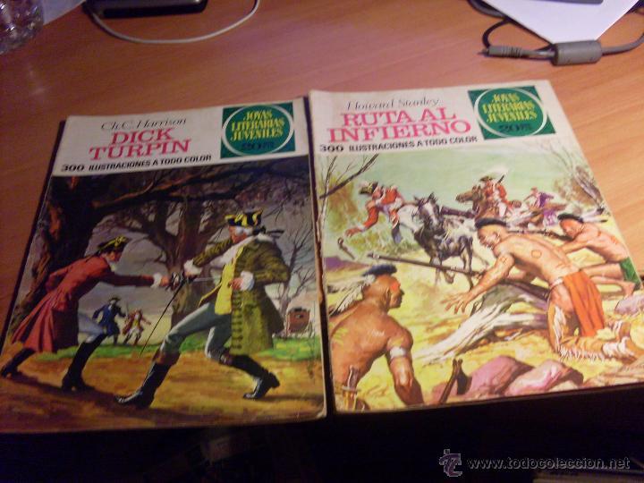 Tebeos: JOYAS LITERARIAS JUVENILES. LOTE 35 EJEMPLARES DIFERENTES (BRUGUERA) (CLA13) - Foto 11 - 46592694