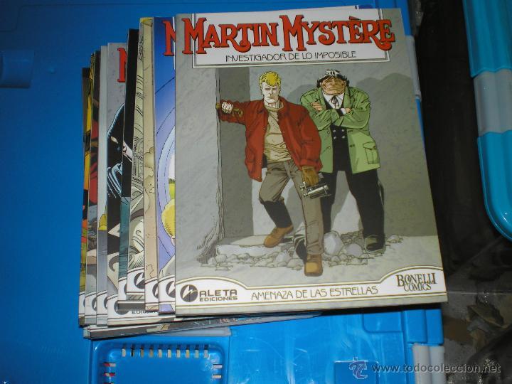COLECCION DE EDICONES ALETA DE MARTIN MYSTERE DEL 1 AL 14 (Tebeos y Comics - Tebeos Colecciones y Lotes Avanzados)