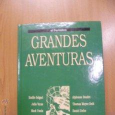 Tebeos: GRANDES AVENTURAS. TOMO 3. EMILIO SALGARI. JULIO VERNE. EL PERIÓDICO. COMIC. COMICS.. Lote 47007837