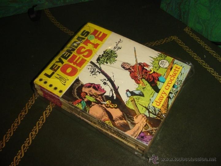LEYENDAS DEL OESTE (EUREDIT - 1970). ¡¡ COMPLETA !! (Tebeos y Comics - Tebeos Colecciones y Lotes Avanzados)