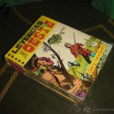 Tebeos: LEYENDAS DEL OESTE (EUREDIT - 1970). ¡¡ COMPLETA !!. Lote 47294333