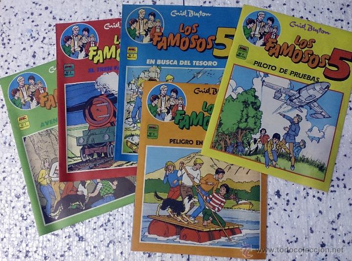 LOS FAMOSOS 5 - ENYD BLYTON (Tebeos y Comics - Tebeos Pequeños Lotes de Conjunto)