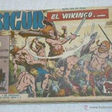 Tebeos: TEBEOS-COMICS CANDY - SIGUR EL WIKINGO - COMPLETA - JOSE ORTIZ - OFERTA *AA98. Lote 47551647