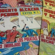 Tebeos: ROBERTO ALCAZAR Y PEDRIN EXTRA 6 NÚMEROS 1-4-5-7-8-9. Lote 47559780