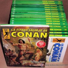 Tebeos: 16 SUPER CONAN 1ª EDICIÓN COMPLETA 16 TOMOS + 2 POSTERS ORIGINALES CONAN. Lote 47619906