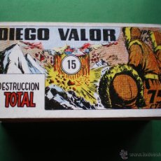 Tebeos: DIEGO VALOR IBERCOMIC-MAN BLANCO/NEGRO HORIZONTAL. 1986 REEDICION .1,2,6,7,9,10,12,13,14, PDELUXE. Lote 47720359