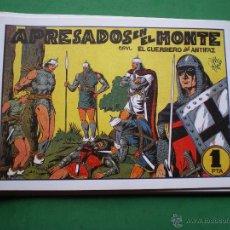 Tebeos: EL GUERRERO DEL ANTIFAZ EDITORIAL VALENCIANA BLANCO/NEGRO HORIZONTAL.EDICION FACSIMIL.9 PDELUXE. Lote 47723603