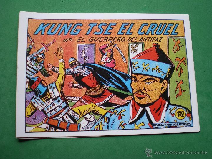 Tebeos: EL GUERRERO DEL ANTIFAZ EDITORIAL VALENCIANA Blanco/Negro Horizontal.Edicion Facsimil.9 PDELUXE - Foto 8 - 47723603