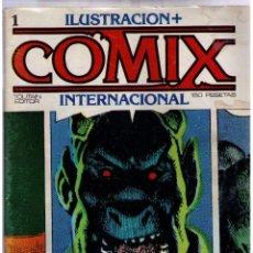 Tebeos: COMIX INTERNACIONAL. LOTE DE 19 EJEMPLARES.. Lote 36308976
