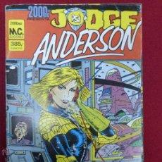 Tebeos: 2000 AD - JUDGE ANDERSON RETAPADO - NUMEROS DEL 5 AL 8. Lote 47932211