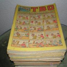 Tebeos: GRAN LOTE DEL T B O CON 157 EJEMPLARES- NOTA SE HAN INCORPORADO MAS TEBEOS AL LOTE. Lote 48341006