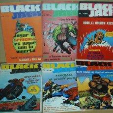 Tebeos: BLACK JACK, COLECCION COMPLETA AMAIKA 1980 - 6 EJEMPLARES - LIQUIDACIÓN DE GENERO -. Lote 49073915