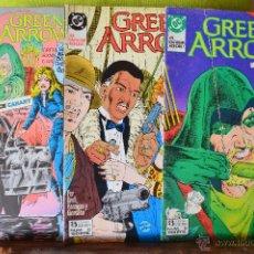 Tebeos: GREEN ARROW 5, 6, 7 - LOTE 3 COMICS - ZINCO - DC. Lote 49146668