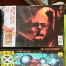 Tebeos: NUEVOS X MEN ESPECIAL 2002 - PATRULLA X ESPECIAL 2002 - LOTE 2 COMICS - FORUM - MARVEL. Lote 49147056