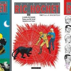 Tebeos: RIC HOCHET INTEGRAL 1, 2 Y 3. COMPLETA / PONENT MON / TIBET Y DUCHATEAU. Lote 51130562