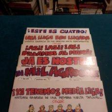 Tebeos: LOTE 7 COMICS SOBRE EL BARÇA - F.C.BARCELONA - POR OSCAR DE EL JUEVES - FÚTBOL. Lote 50284678
