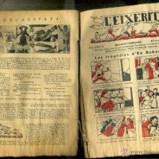 Tebeos: L'EIXERIT SETMANARI CATEQUÍSTIC Nº 5 AL 60 - 1932/1933 TEBEO CATALÁN. Lote 50465579