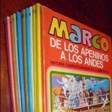 Tebeos: MARCO,DE LOS APENINOS A LOS ANDES,HISTORIA COMPLETA SERIE TV. 12 NUMEROS,BRUGUERA 1976. Lote 51218833