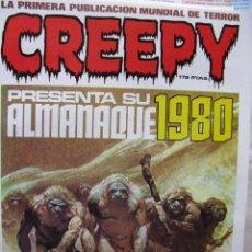 Tebeos: CREEPY. ALMANAQUE 1980 + ALMANAQUE 1981 + LO MEJOR DE BRUCE JONES. TOUTAIN EDITOR.. Lote 51493260