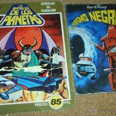 Tebeos: LOTE DE 2 TEBEOS - EL ABISMO NEGRO MONTENA 1980 Y LA BATALLA DE LOS PLANETAS FHER 1980 Nº 10-LEER. Lote 51697124