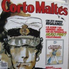 Tebeos: CORTO MALTÉS. NROS. 1 Y 2. ( CON FASCICULOS DE TANGO + ÁLBUM DE CROMOS CON LOS 16 CROMOS).. Lote 51773358