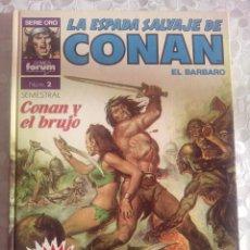 Tebeos: COMIC. SUPERCONAN Nº 2 SUPER CONAN. IMPECABLE. 2ª ED. ENTREGO EN MANO EN MADRID. Lote 51146900