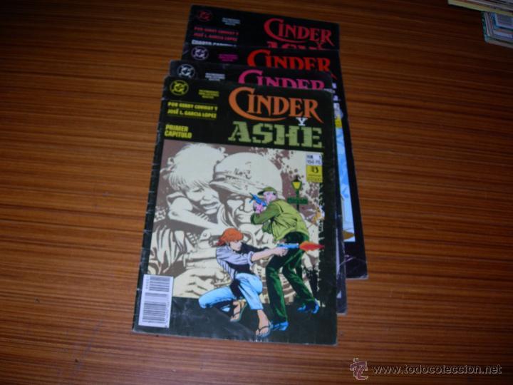 CINDER Y ASHE COMPLETA 4 NUMEROS DE ZINCO - DC (Tebeos y Comics - Tebeos Colecciones y Lotes Avanzados)