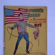 Tebeos: PEQUEÑO CHERIFF TAMAÑO GDE. LOTE DE 35 CUADERNILLOS ORIGINAL. Lote 26442018