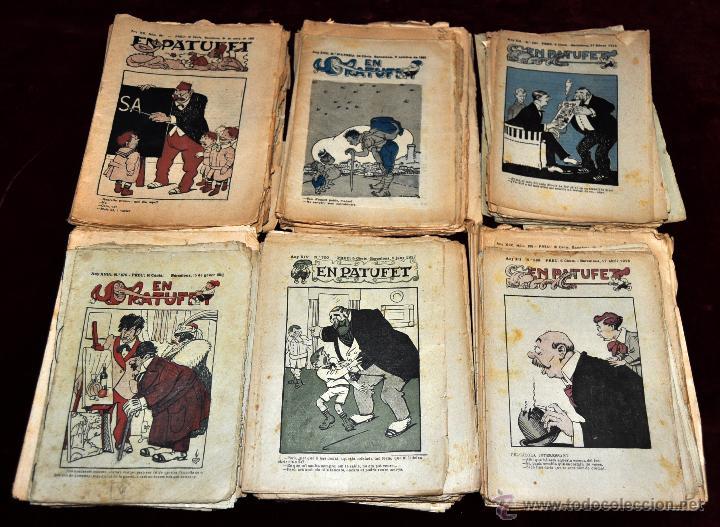 LOTE DE 84 PATUFET DE LOS 1000 PRIMEROS (Tebeos y Comics - Tebeos Colecciones y Lotes Avanzados)