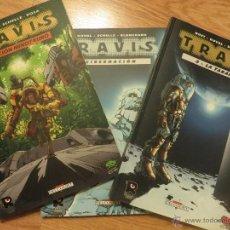 Tebeos: TRAVIS 1, 2 Y 3. COLECCION COMPLETA COMIC EUROPEO SCI-FI. MORVAN. RECERCA EDITORIAL. Lote 52639258