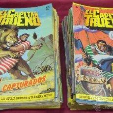Tebeos: EL CAPITAN TRUENO. COLECCION COMPLETA. 148 EJEMPLARES. EDICION HISTORICA. EDICIONES B.. Lote 52731942