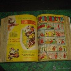 Tebeos: PULGARCITO (BRUGUERA) ... Nº 1466/1516 - TODOS INCLUYEN CAPITAN TRUENO -. Lote 52764441