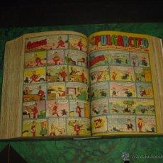 Tebeos: PULGARCITO (BRUGUERA) ... Nº 1411/1465 - TODOS INCLUYEN CAPITAN TRUENO -. Lote 52764704
