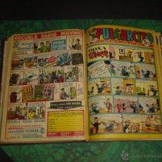 Tebeos: PULGARCITO (BRUGUERA) ... Nº 1811/1834 - TODOS INCLUYEN SHERIFF KING -. Lote 52773794