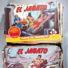 Tebeos: EL JABATO , LOTE DE 225 EJEMPLARES , BRUGUERA , ORIGINALES . Lote 52868138