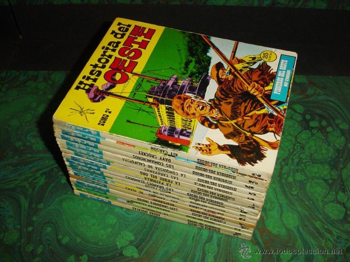 HISTORIA DEL OESTE (EUREDIT - 1969) (Tebeos y Comics - Tebeos Colecciones y Lotes Avanzados)