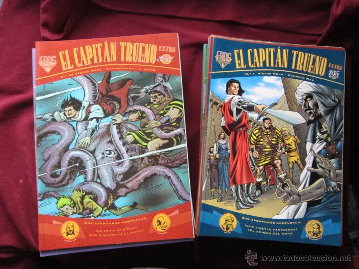 EL CAPITÁN TRUENO COLECCIÓN EXTRA FANS LOTE 34 TOMOS EDICIONES B EXCELENTES TEBENI (Tebeos y Comics - Tebeos Colecciones y Lotes Avanzados)